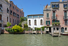 Cityscape taken from the Grand canal Royalty Free Stock Photo