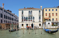 Cityscape taken from the Grand canal Stock Images