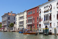 Cityscape taken from the Grand canal Royalty Free Stock Images