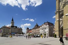 Cityscape in novi sad,Serbia. Cityscape is taken in novi sad,Serbia Royalty Free Stock Photos