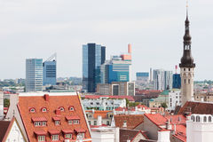 Cityscape of Tallinn. Estonia Royalty Free Stock Photography