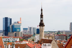 Cityscape of Tallinn. Estonia Stock Image