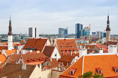 Cityscape of Tallinn. Estonia Stock Photography