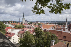 Cityscape, Tallinn Royalty Free Stock Image