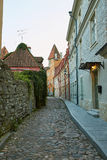 Cityscape Tallinn, view on the city Royalty Free Stock Images