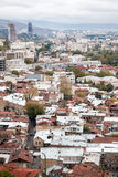 Cityscape of Tbilisi Stock Image