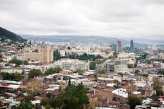 Cityscape of Tbilisi Royalty Free Stock Photo