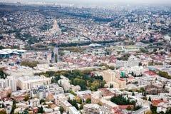 Cityscape of Tbilisi Stock Photo