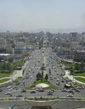 Cityscape of Tehran Royalty Free Stock Photo