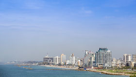 Cityscape of Tel-aviv, Israel. Royalty Free Stock Photo