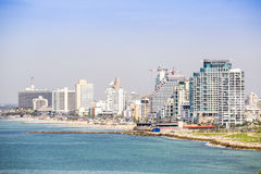 Cityscape of Tel-aviv, Israel. Stock Photography