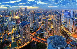 Cityscape in Thailand Royalty Free Stock Photo