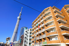 Cityscape in Tokyo Stock Photography