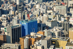 Cityscape of Tokyo, Japan royalty free stock images