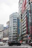 Cityscape in Tokyo Japan op 31 Maart, 2017 Stock Fotografie