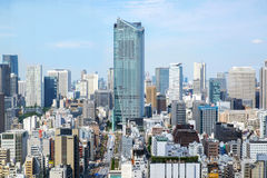 Cityscape of Tokyo, Japan Royalty Free Stock Photography