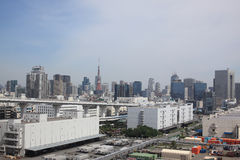 Cityscape of Tokyo Royalty Free Stock Photography