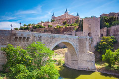 Cityscape of Toledo Stock Photos