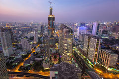 Cityscape from top view Royalty Free Stock Photography
