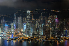 Cityscape from top view of sky100 building Royalty Free Stock Images