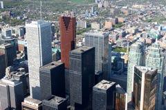 cityscape toronto Arkivbild