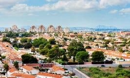 Cityscape of Torrevieja city. Spain Royalty Free Stock Photos