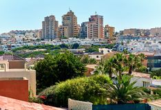 Cityscape of Torrevieja Stock Image