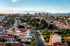 Cityscape of Torrevieja. Costa Blanca. Spain Stock Photo