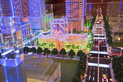 Cityscape - toy Royaltyfria Bilder