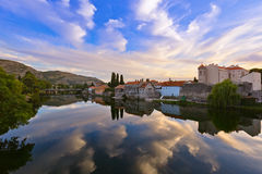 Cityscape of Trebinje - Bosnia and Herzegovina stock photography