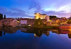 Cityscape of Trebinje - Bosnia and Herzegovina Royalty Free Stock Photos