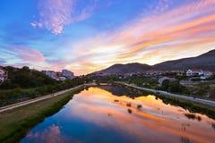Cityscape of Trebinje - Bosnia and Herzegovina Stock Images