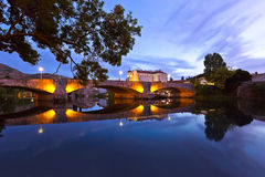 Cityscape of Trebinje - Bosnia and Herzegovina Royalty Free Stock Images