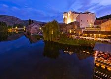 Cityscape of Trebinje - Bosnia and Herzegovina. Architecture travel background Stock Photos