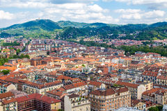Cityscape of Turin in Italy Stock Photos