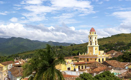 Cityscape of UNESCO World Heritage Site - Trinidad, Cuba Stock Photo