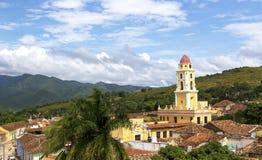 Cityscape of UNESCO World Heritage Site - Trinidad, Cuba Stock Photo