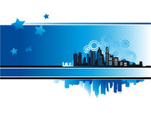 Cityscape, urban background Royalty Free Stock Image
