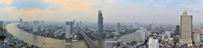 Cityscape in urban Bangkok,capital of Thailand Royalty Free Stock Image