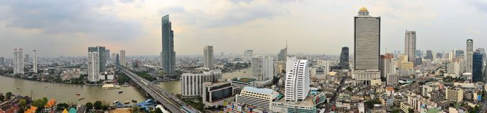 Cityscape in urban Bangkok,capital of Thailand Stock Images