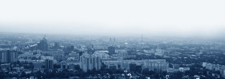 Cityscape, urban view Royalty Free Stock Photography