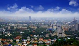 Cityscape, urban view Stock Photos