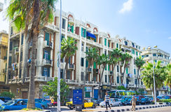 Cityscape van Alexandrië Royalty-vrije Stock Afbeelding