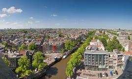 Cityscape van Amsterdam Royalty-vrije Stock Fotografie