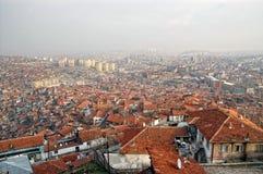 Cityscape van Ankara, Turkije Stock Fotografie