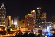 Cityscape van Atlanta Stock Afbeelding