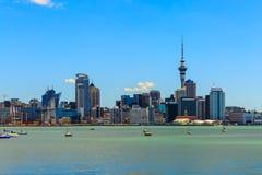 Cityscape van Auckland Stock Afbeelding