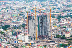 Cityscape van Bangkok Stock Afbeeldingen