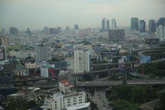 Cityscape van Bangkok Stock Fotografie