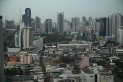 Cityscape van Bangkok Royalty-vrije Stock Afbeeldingen